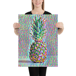 Colorful Isometric Pineapple