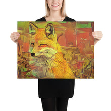 Load image into Gallery viewer, Van Gogh Fox 2