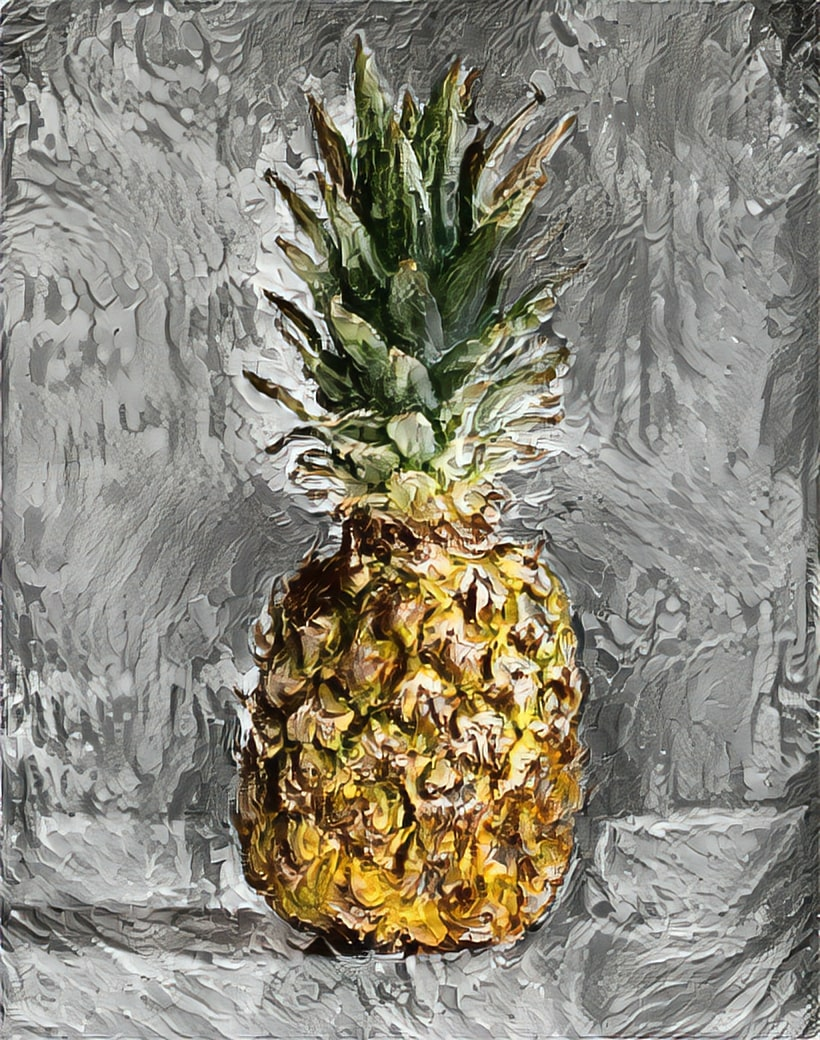 Van Gogh Pineapple