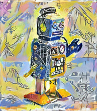 Load image into Gallery viewer, Basquiat Robot