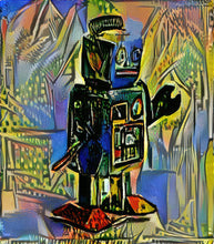 Load image into Gallery viewer, Picasso Robot