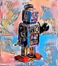 Load image into Gallery viewer, Basquiat Robot 3