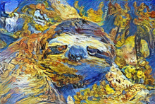 Load image into Gallery viewer, Van Gogh Sloth