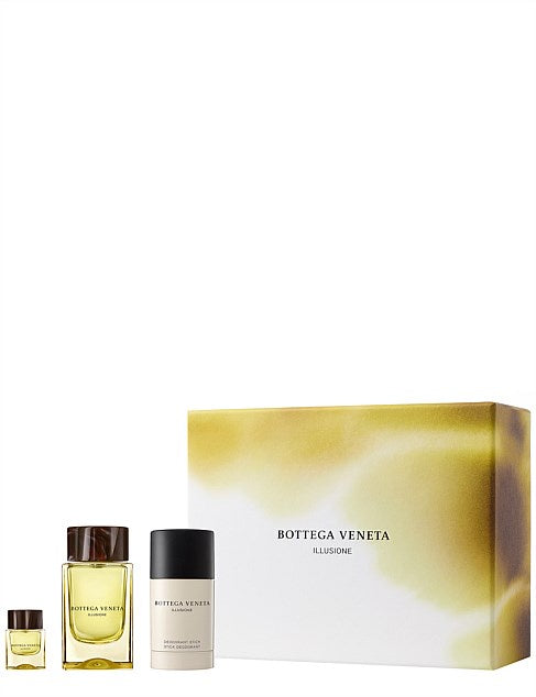 Bottega Veneta Illusione For Him Eau De Toilette Gift Pack