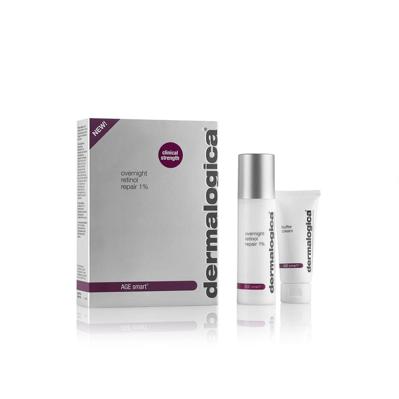 Dermalogica AGE Smart Overnight Retinol Repair 1% & Buffer Cream 25ml & 15ml