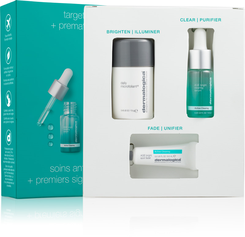 Dermalogica Active Clearing Clear and Brighten Kit