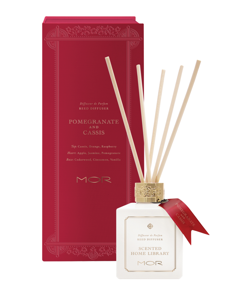 MOR Scented Home Library - Reed Diffuser 180ml