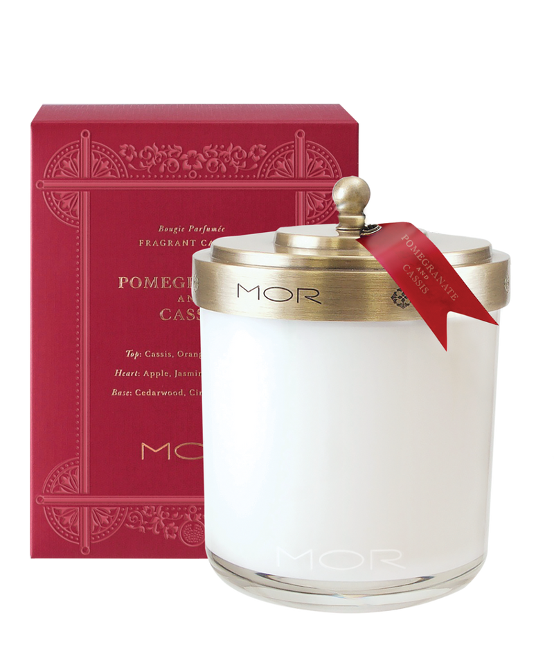 MOR Scented Home Library - Fragrant Candle 380g