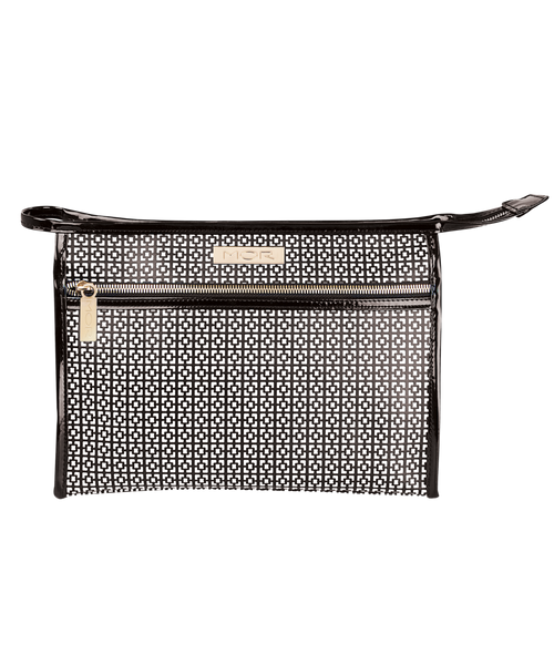 MOR Destination - Geo Monochrome Texture Cosmetic Bag Collection