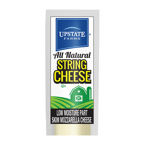 Low-Moisture Part Skim String Cheese Sticks (24 Pack), Upstate Farms