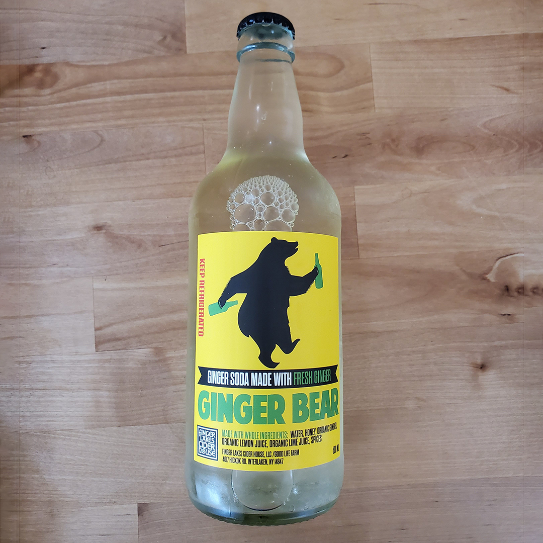Ginger Bear 500 ml, Finger Lakes Cider House