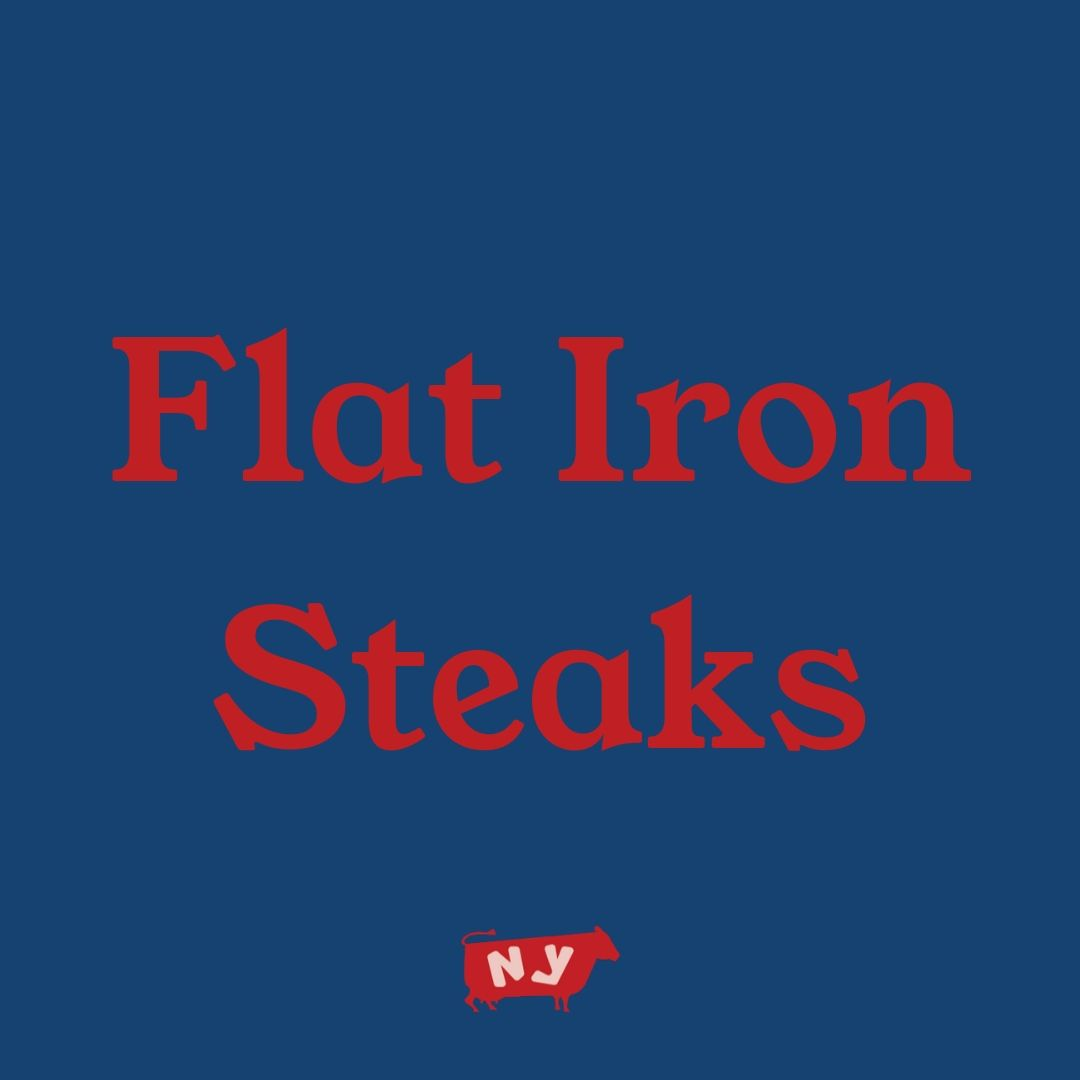 Flat Iron Steaks, Organic Beef
