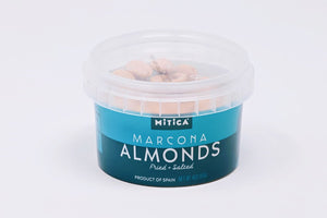Marcona Almonds Fried + Salted (4 oz), Mitica