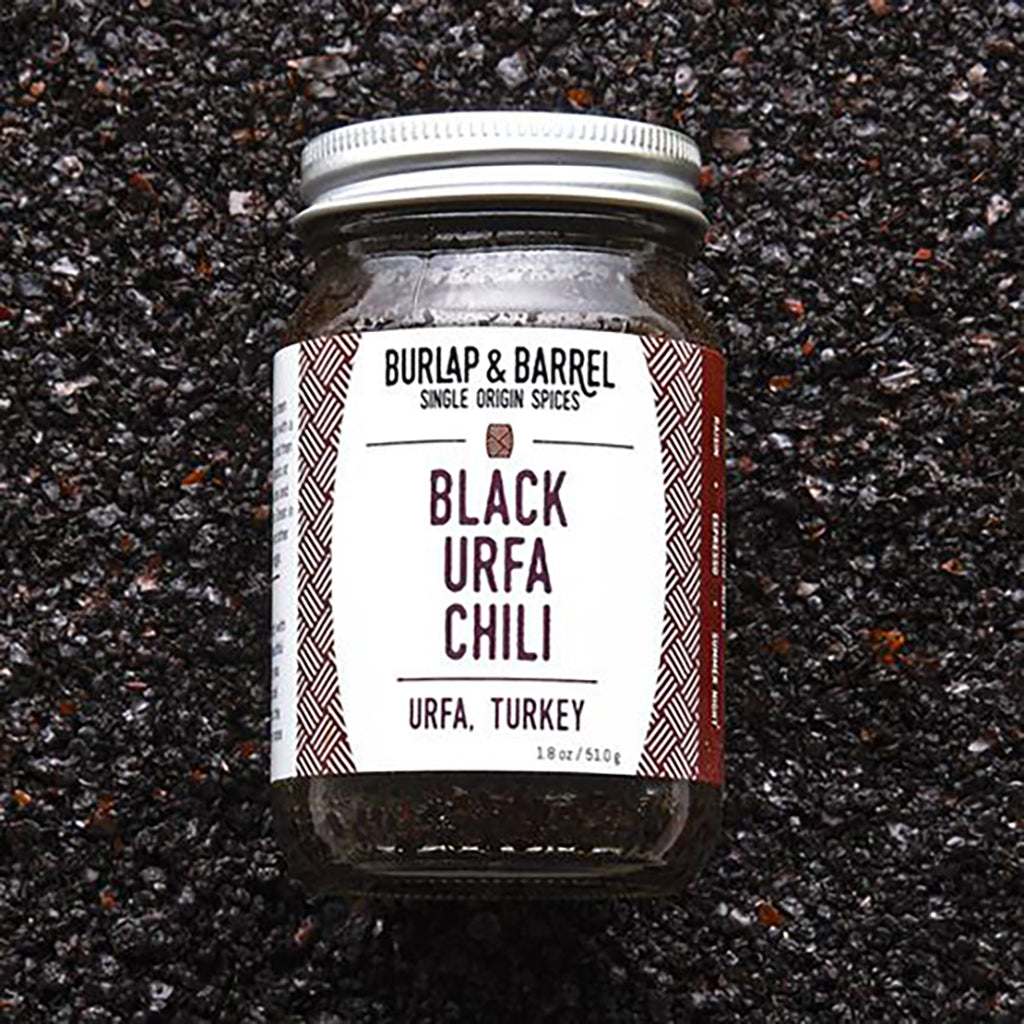 Black Urfa Chili 1.8 oz Jar, Burlap & Barrel