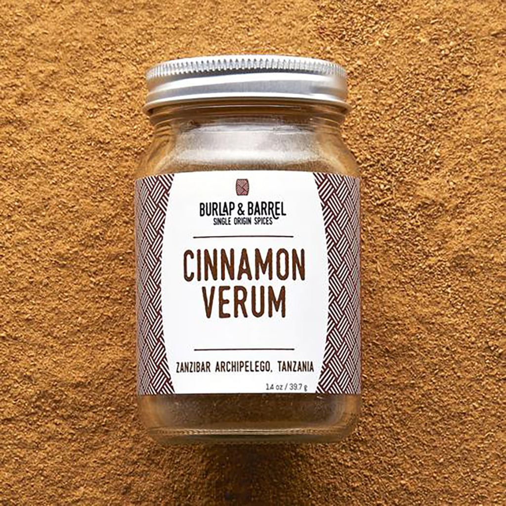 Cinnamon Verum 1.8 oz Jar, Burlap & Barrel