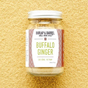 Buffalo Ginger 1.8 oz Jar, Burlap & Barrel
