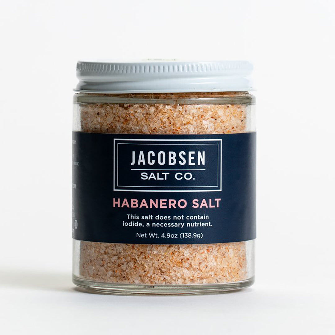 Habanero Salt 4.9oz Jar, Jacobsen Salt Co.