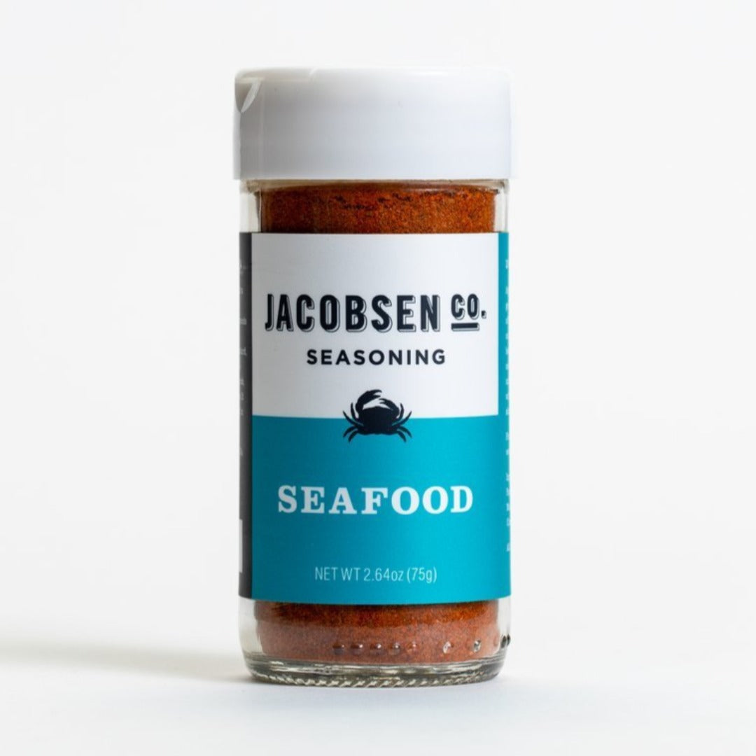 Seafood Seasoning 2.64oz Shaker, Jacobsen Salt Co.