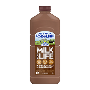 Lactose Free 2% Reduced Fat Chocolate Milk (Half Gallon), Upstate Farms