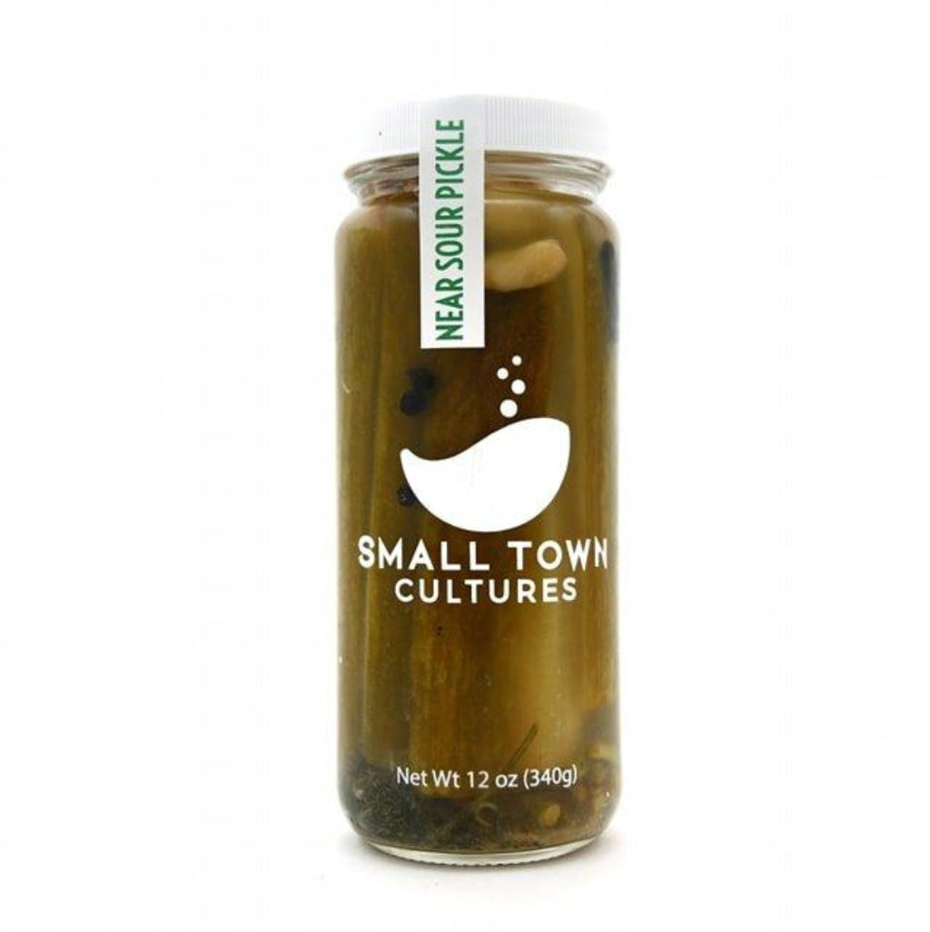 Near Sour Pickles 12oz Jar, Small Town Cultures