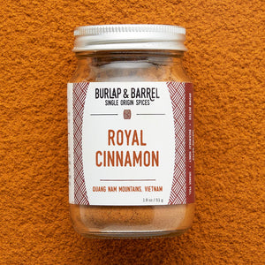 Royal Cinnamon 1.8 oz Jar, Burlap & Barrel