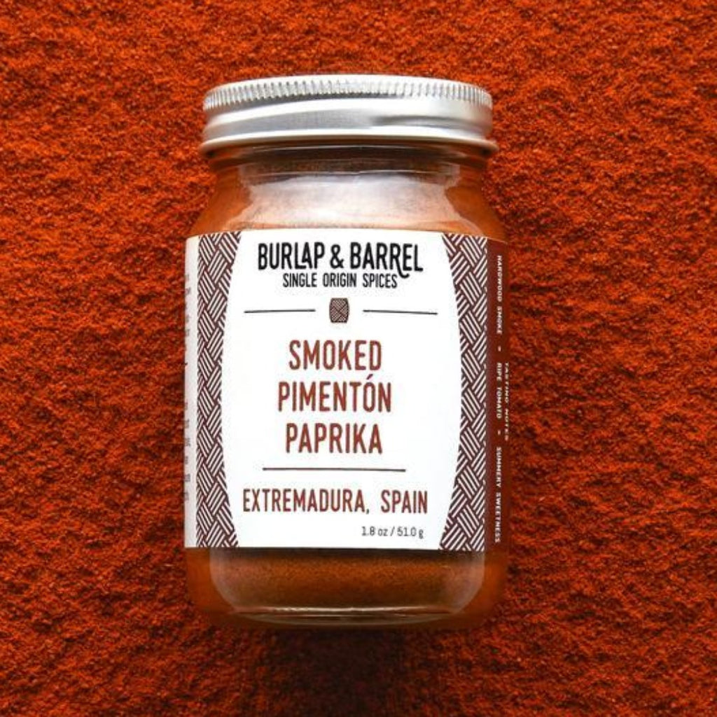 Smoked Pimentón Paprika 1.8 oz Jar, Burlap & Barrel