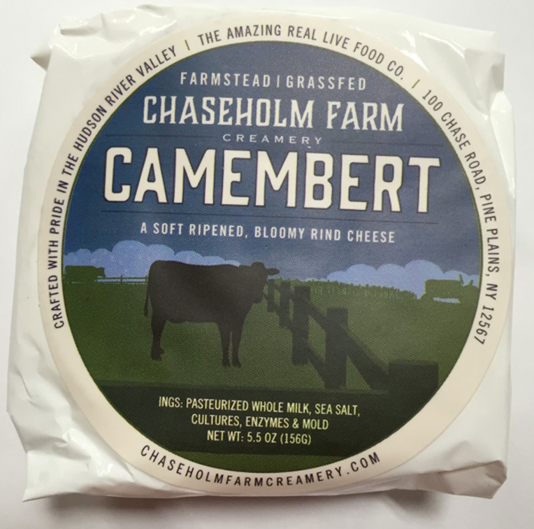 Camembert Cheese, Chaseholm Farm, 5.5 oz