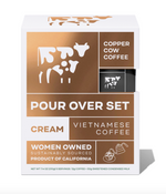 Copper Cow Vietnamese Pour Over Coffee Kits