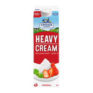 Heavy Cream 32 oz, Upstate Farms