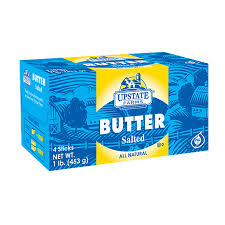 Salted Butter 1 lb, Upstate Farms