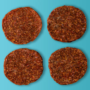 6 oz Hamburger Patties (4 pack) - 1.5 lbs, Organic Beef