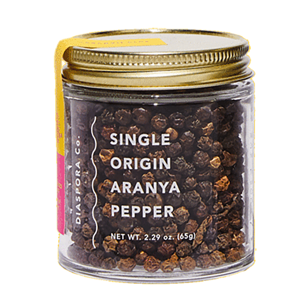 Single Origin Aranya Pepper 2.29 oz Jar, Diaspora