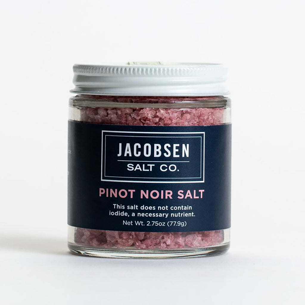 Pinot Noir Salt 2.75oz Jar, Jacobsen Salt Co.
