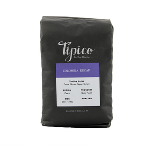Colombia Decaf Coffee, Tipico Roasters