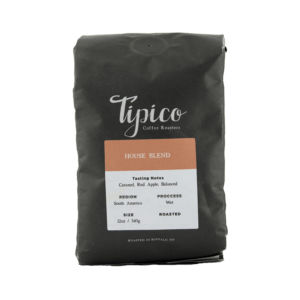 House Blend Beans, Tipico Coffee