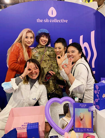 The Oh Collective at Common Rare Shanghai founders and fans