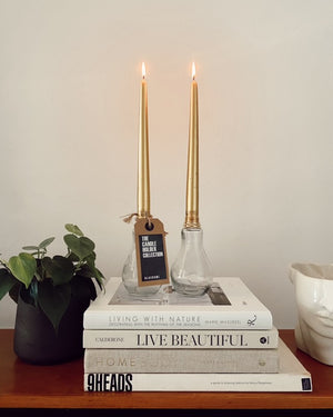 Light Bulb Candle Holder