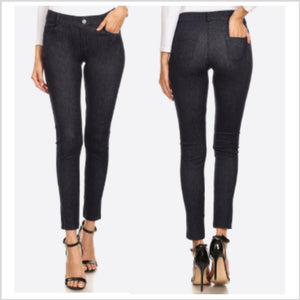 Stretch Skinnies | Dark Denim