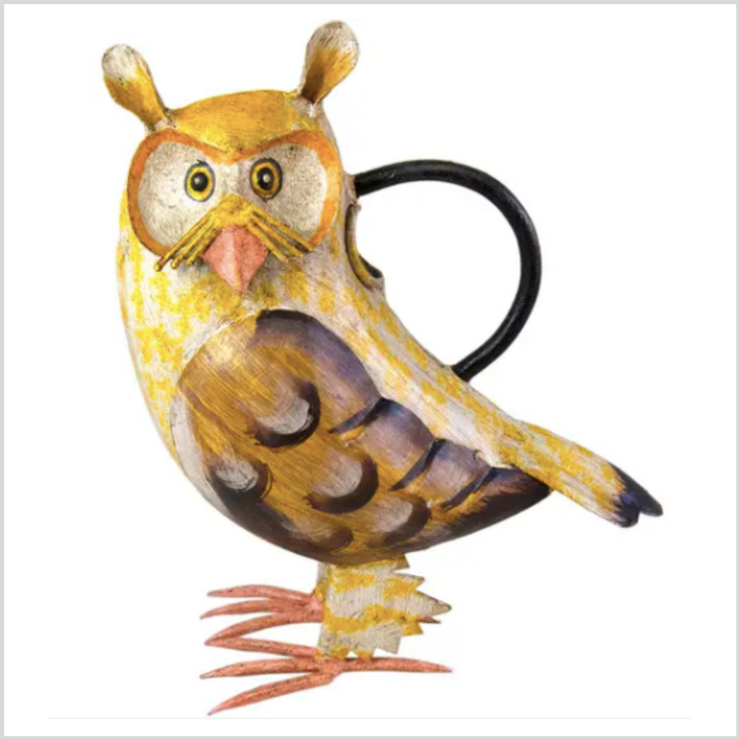 Iron Watering Can | Owl