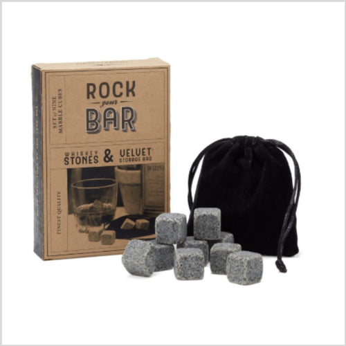 Rock Your Bar Whiskey Stones
