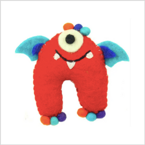 Felt Tooth Fairy Pillow - Purple Wings