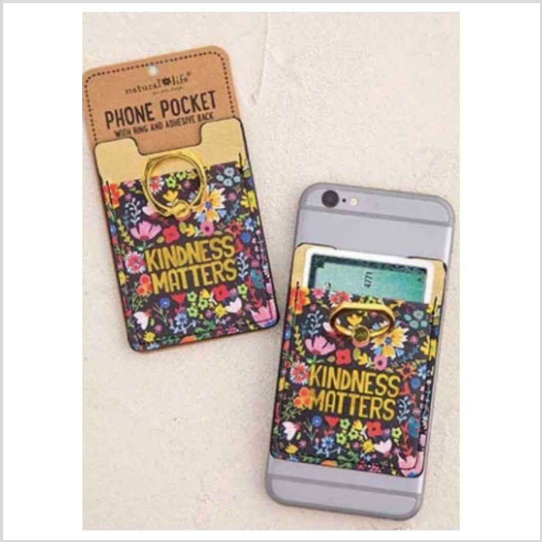 Phone Pocket Ring | Kindness Matters