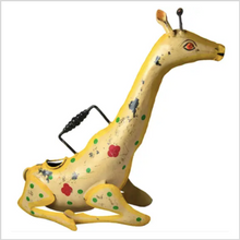 Load image into Gallery viewer, Iron Watering Can | Giraffe