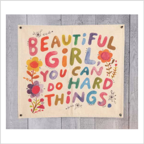 Beautiful Girl Wall Hanging