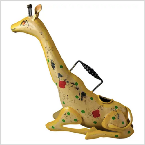 Iron Watering Can | Giraffe