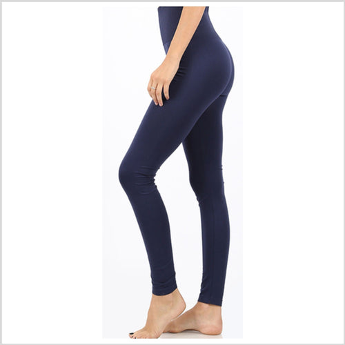 High Waist Leggings | Navy