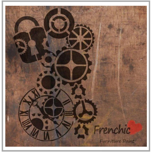 Frenchic - Stencil - Steam Punk