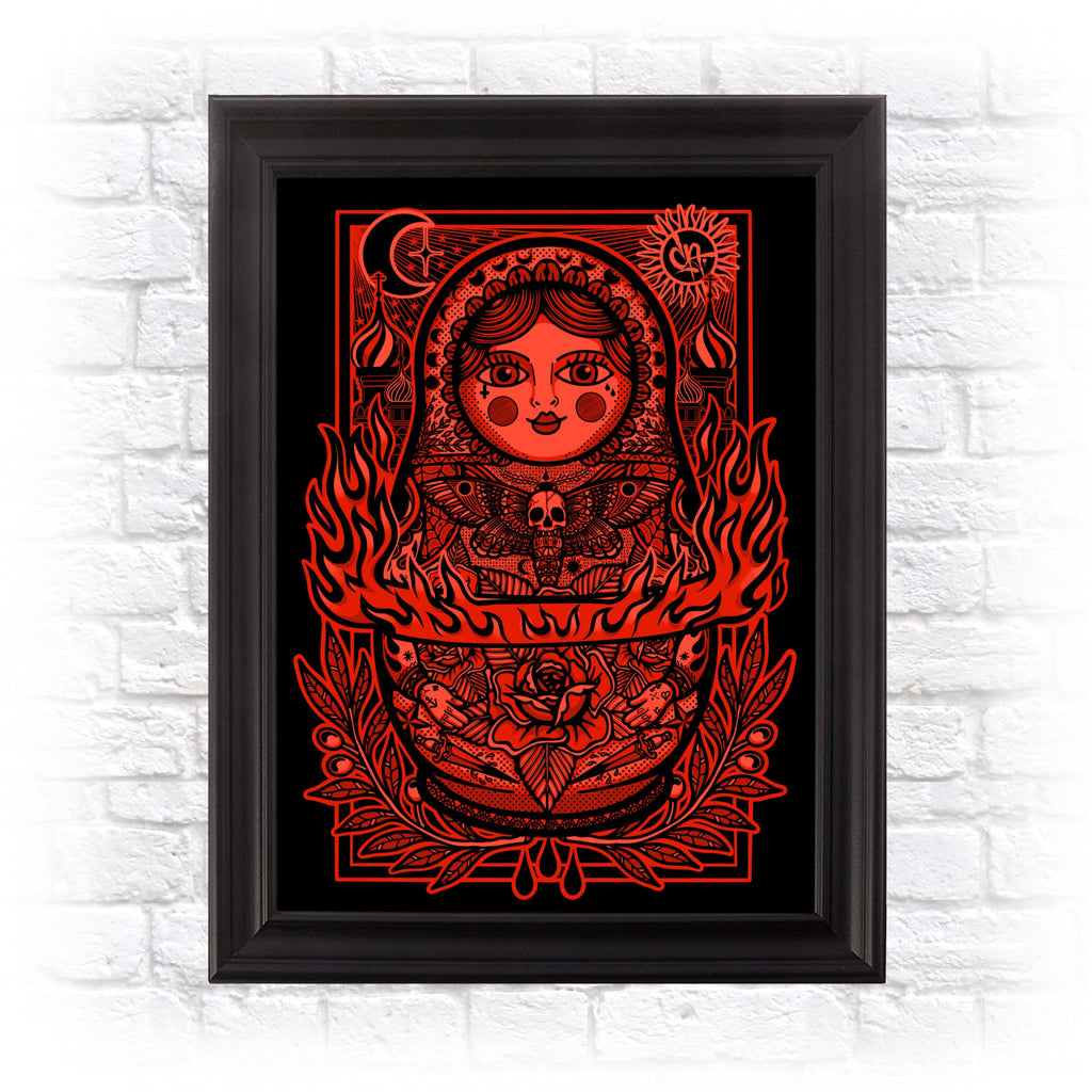 Russian Doll - A3 Heavyweight Art Print
