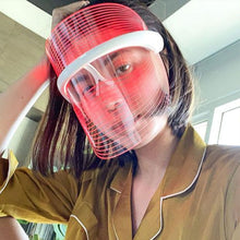 Load image into Gallery viewer, LED Skin Revival 3 Color Light Therapy Mask
