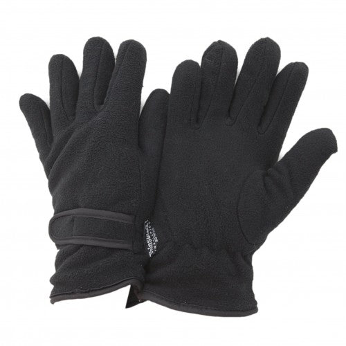 Front - FLOSO Ladies/Womens Thinsulate Fleece Thermal Gloves (3M 40g)
